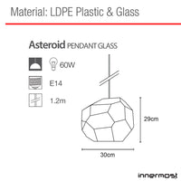 Innermost Asteroid Pendant Light Glass | Innermost | LoftModern