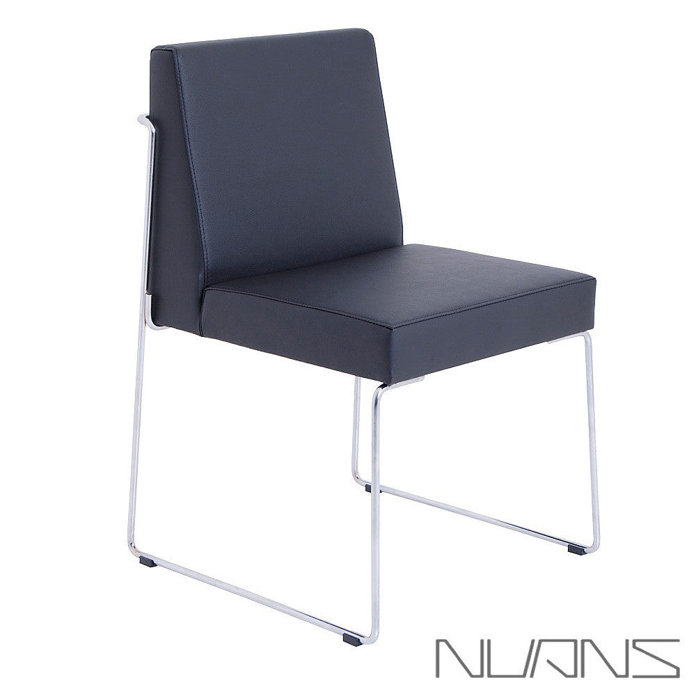 Nuans Design Astoria Dining Chair Leather - LoftModern - 1