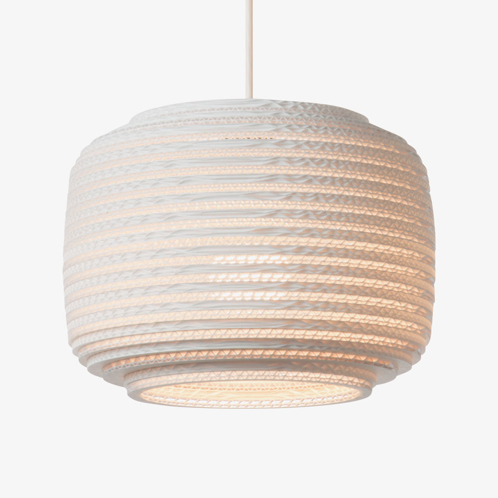 Ausi12 Scraplight Pendant White by Graypants