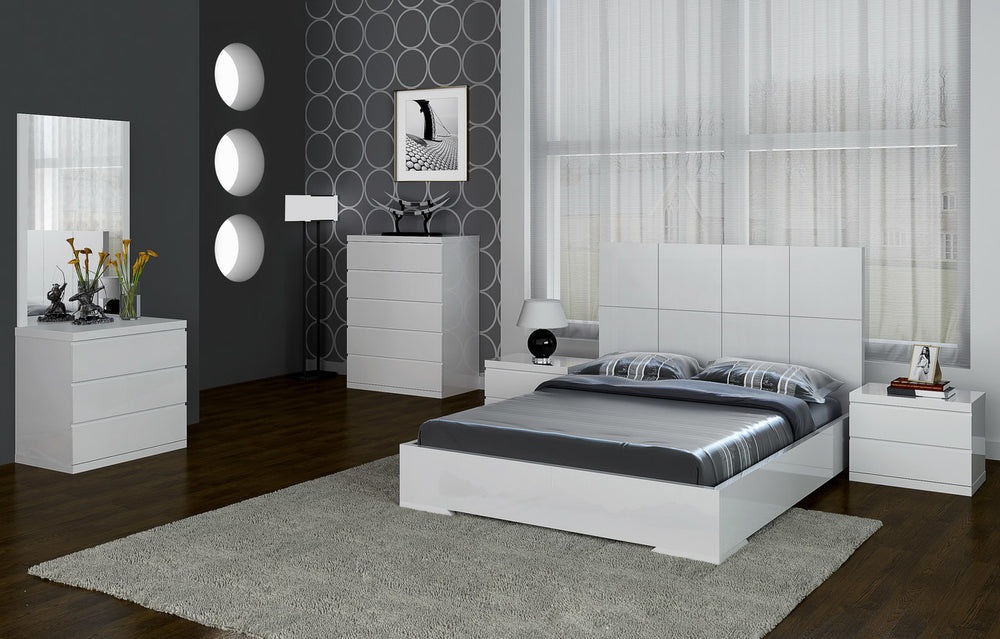 Anna Full Bed White by Whiteline