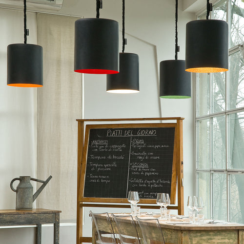 In-es.artdesign Bin Lavagna Pendant Light