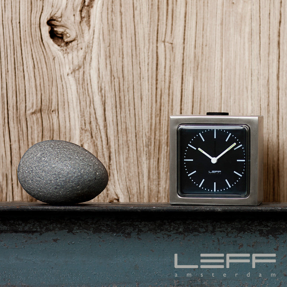 Leff Block-Steel Clock - LoftModern - 6