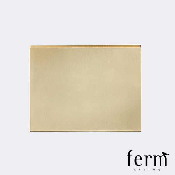 Ferm Living Brass Wall Square | Ferm Living | LoftModern