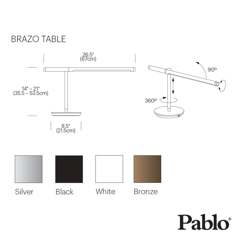 Pablo Design Task Brazo Table Lamp | Pablo Design | LoftModern