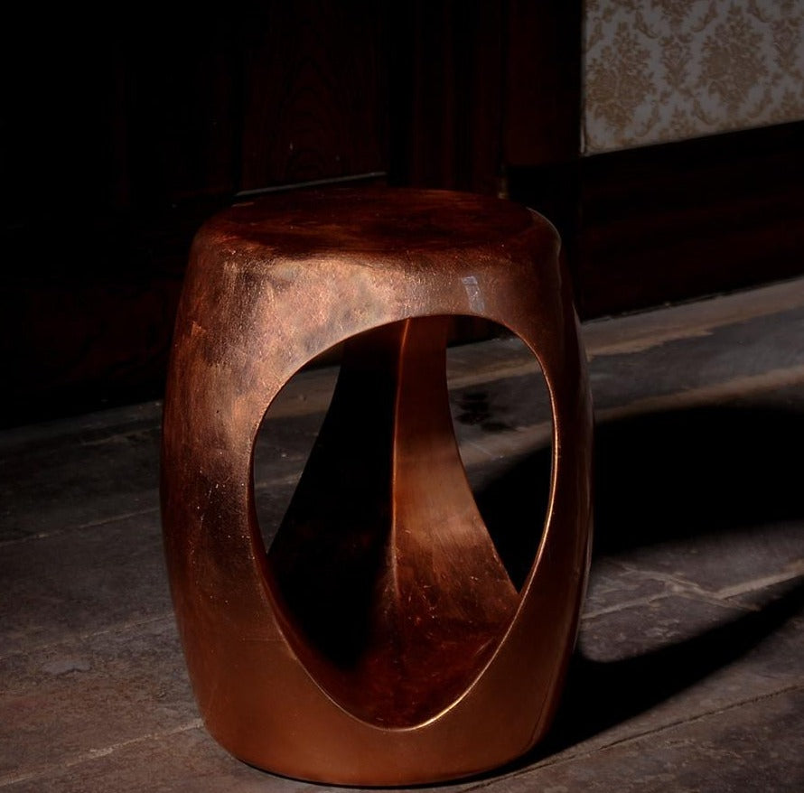 Boca do Lobo Carved Stool Coolors Collection | Boca do Lobo | LoftModern