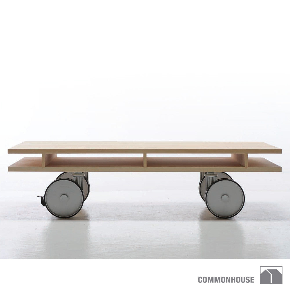 Commonhouse Caster Table | Commonhouse | LoftModern