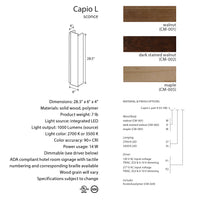 Cerno Capio L LED Wall