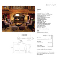 Cerno Valeo Floor Lamp LED
