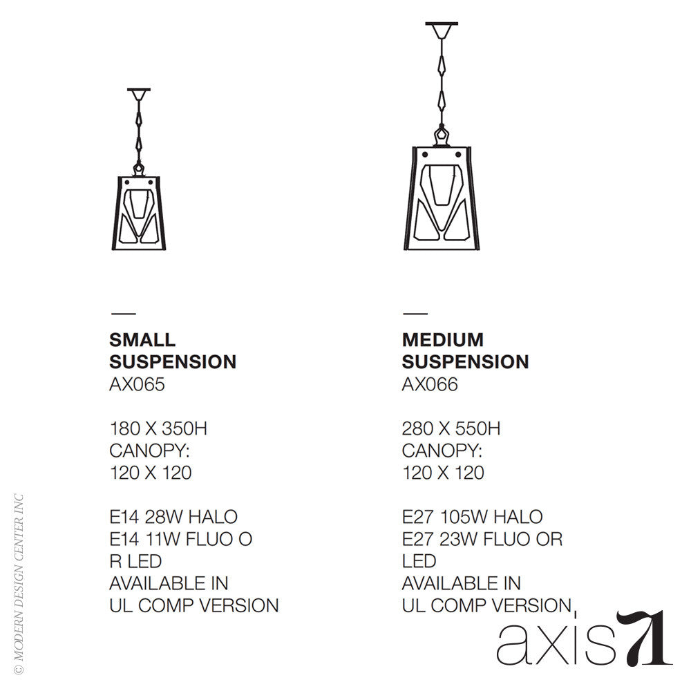 Axis 71 Charles Pendant Light | Axis 71 | LoftModern