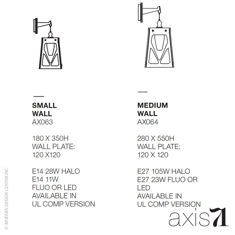 Axis 71 Charles Wall Lamp | Axis 71 | LoftModern