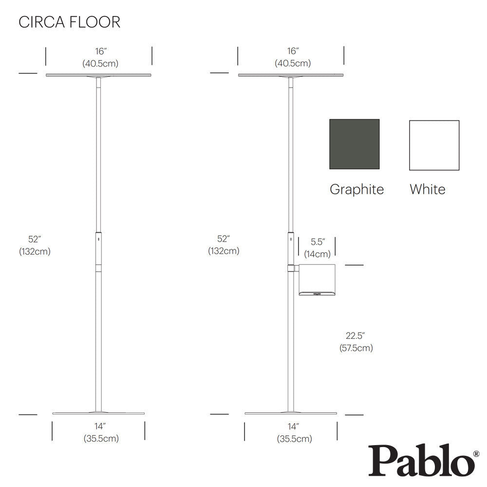 Pablo Design Circa Floor Lamp | Pablo Design | LoftModern