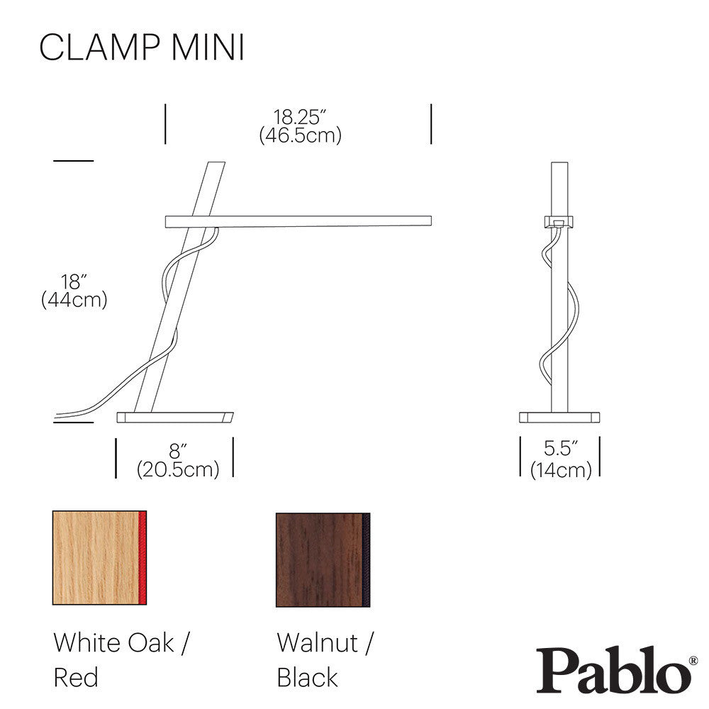 Pablo Design Clamp Mini | Pablo Design | LoftModern