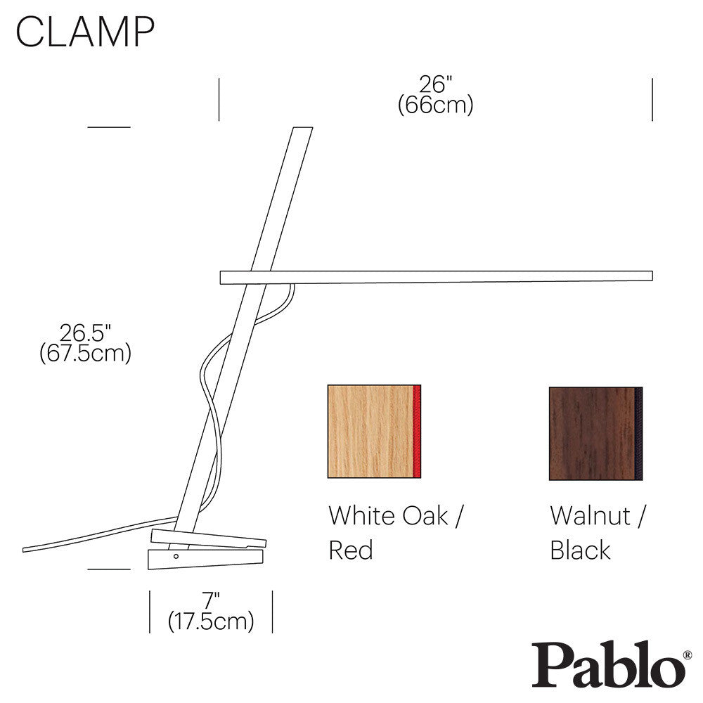 Pablo Design Clamp Lamp | Pablo Design | LoftModern