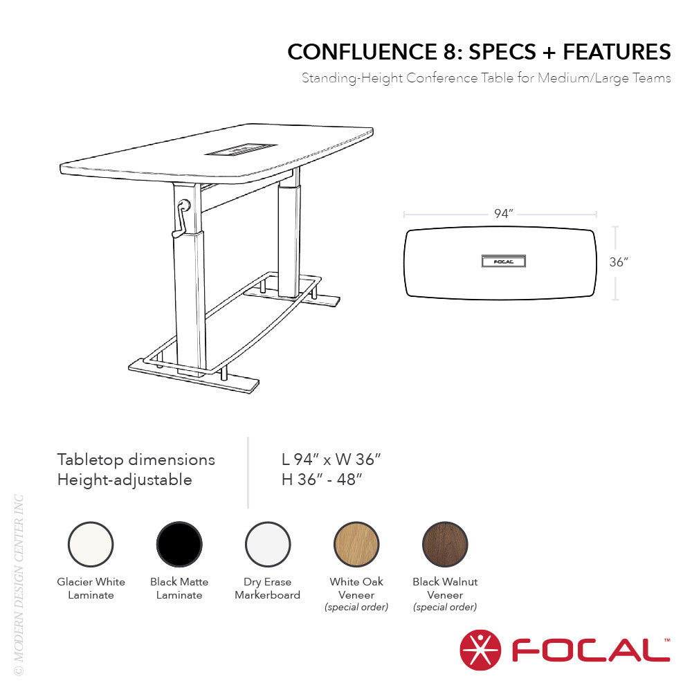 Focal Upright Confluence 8 Bundle - LoftModern - 2