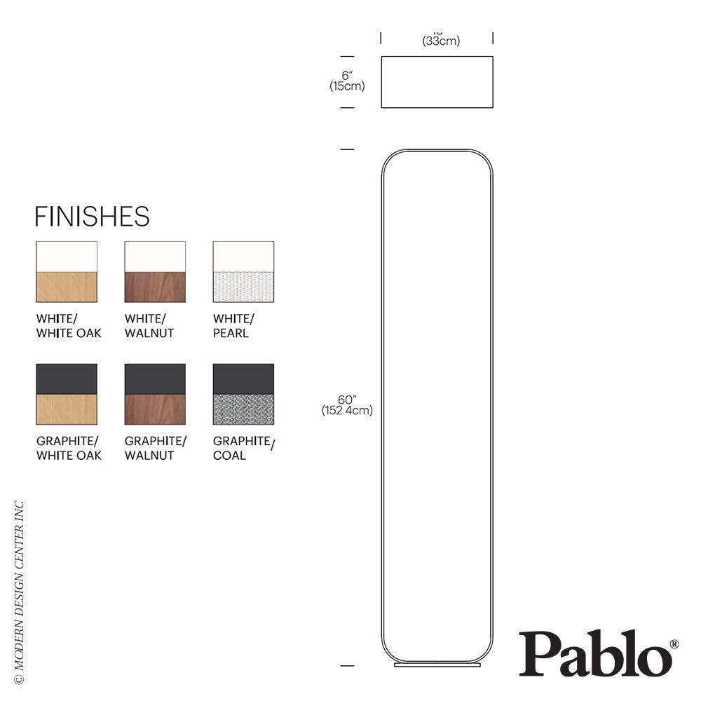 Pablo Designs Contour Floor LED | Pablo Design | LoftModern