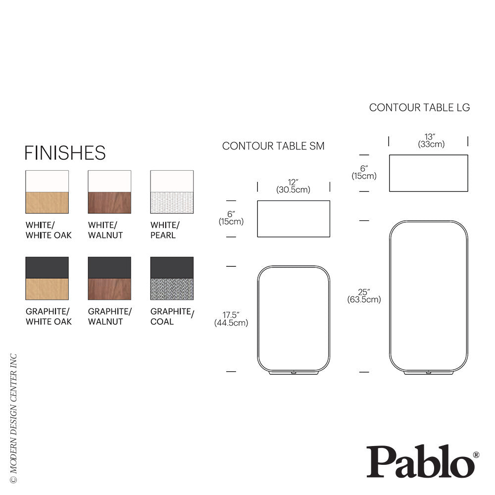 Pablo Designs Contour Table Large - LoftModern - 6