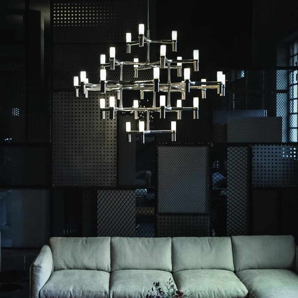 Nemo Italianaluce Crown Major Pendant Light
