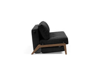 Innovation Cubed Sofa Bed Dark Wood Legs Queen