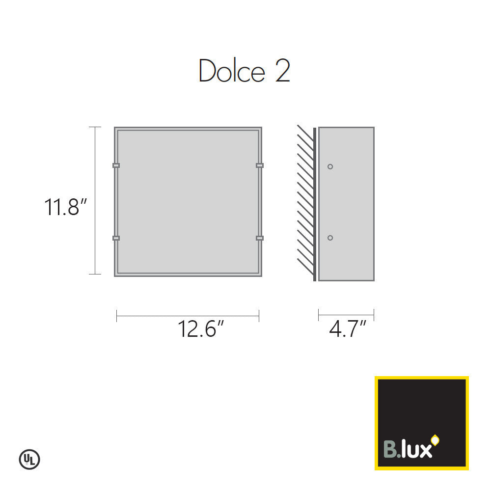 B.Lux Dolce 2 Wall Light | B. Lux | LoftModern