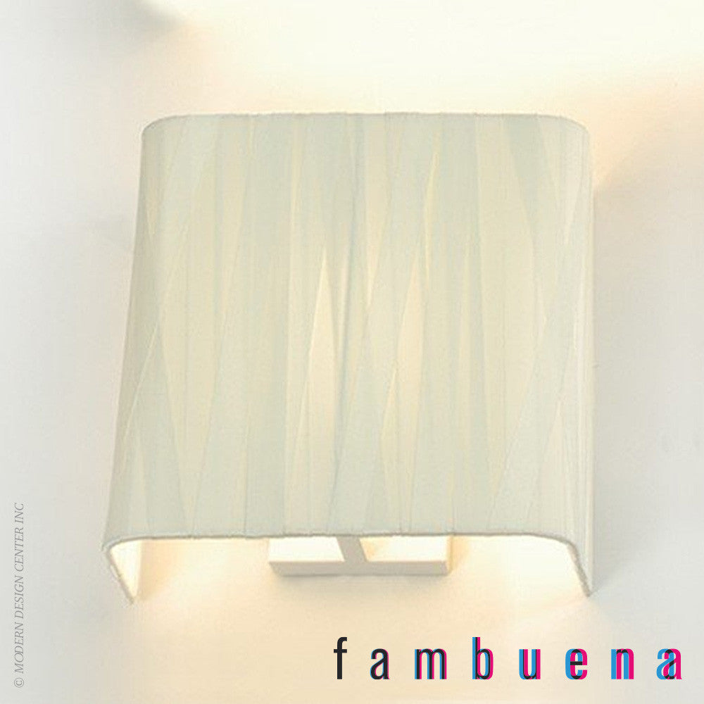 Fambuena Dress Square Wall Light | Fambuena | LoftModern