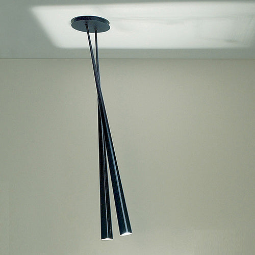 Drink Bicono Carbon Fiber Ceiling Light by Karboxx