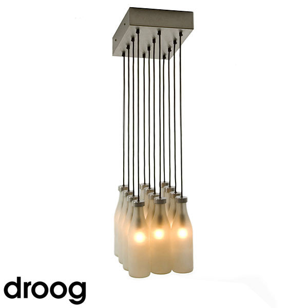 Droog 12 Milk Bottle Pendant Light - LoftModern - 2