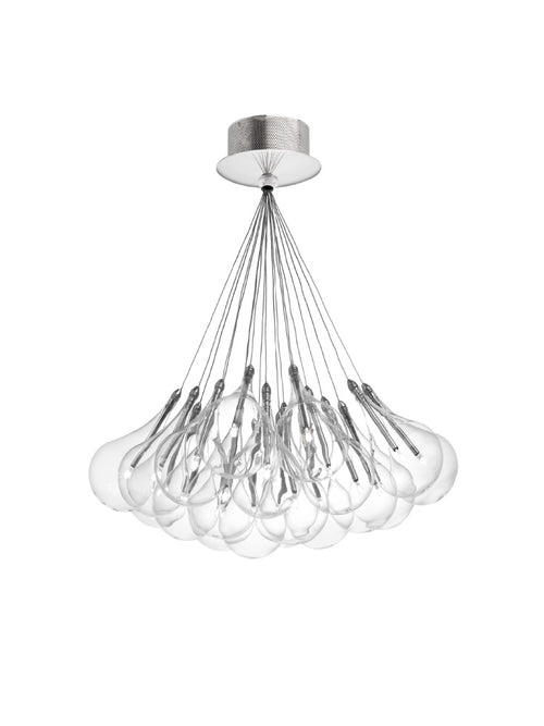 Drop LED 19-Light Pendant Small by Alma Light