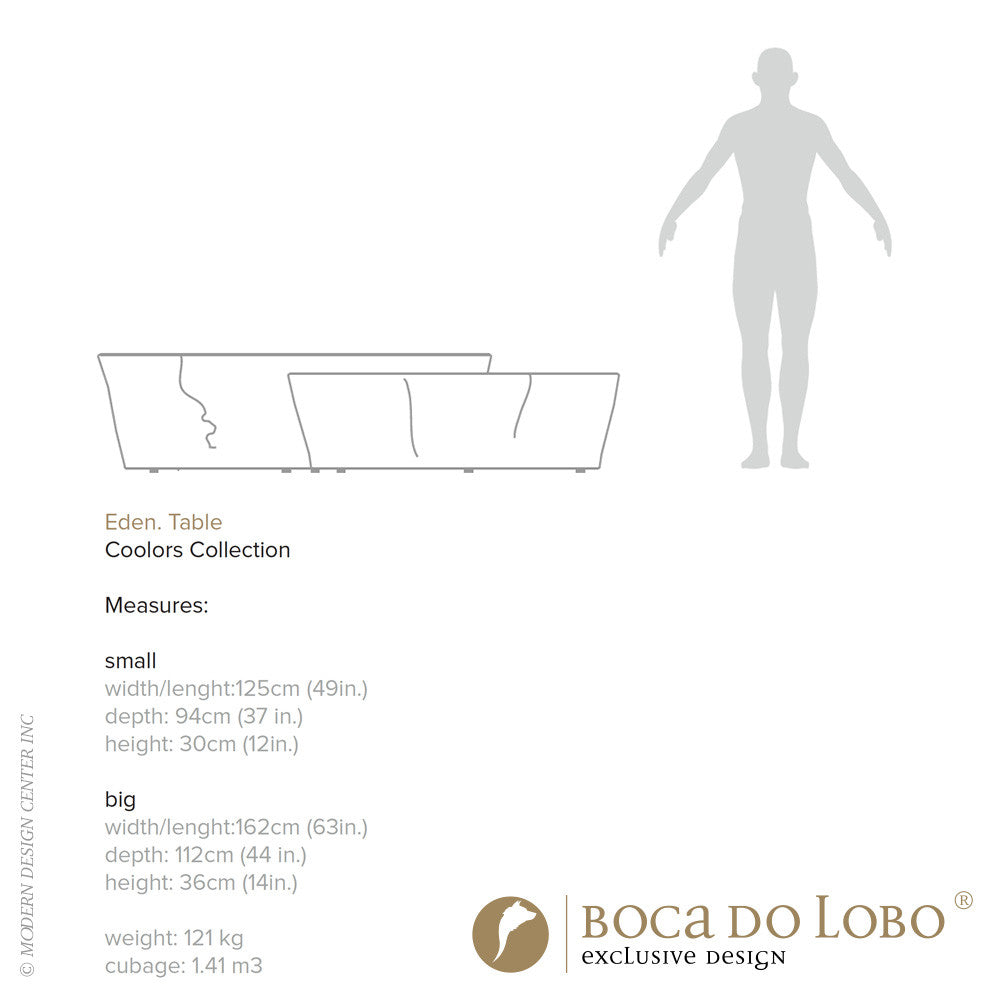 Boca do Lobo Eden Center Table Coolors Collection | Boca do Lobo | LoftModern