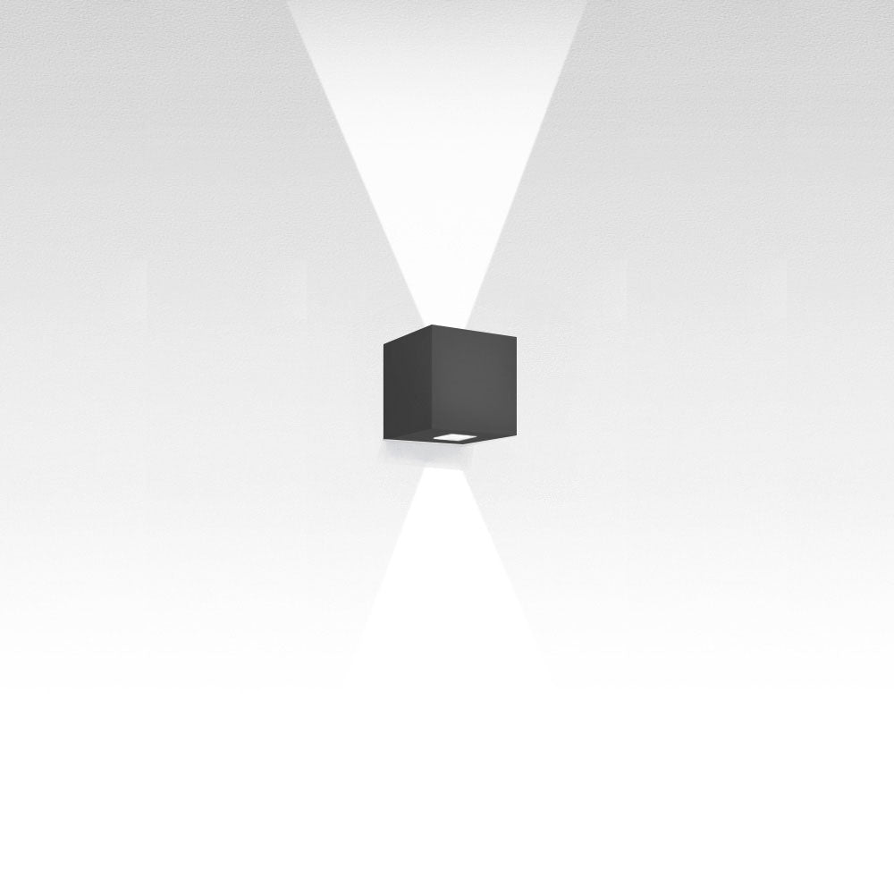 Effetto 14 Square 2 Large LED Wall Light by Artemide