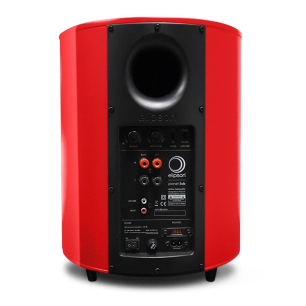 Planet Subwoofer Red by Elipson