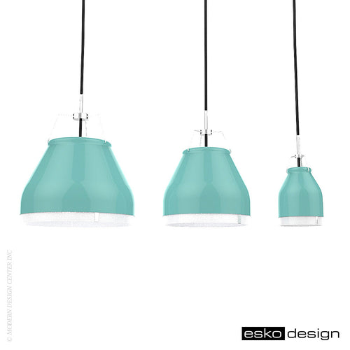 Cowbelle Pendant Light Green by Esko Design | Esko Design | LoftModern
