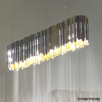 Innermost Facet Pendant Light Lozenge - LoftModern - 2