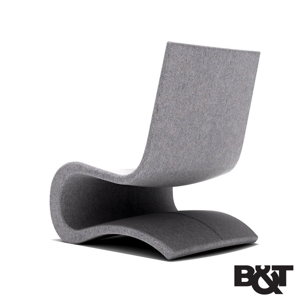 B&T Flow Lounge Chair | B&T | LoftModern