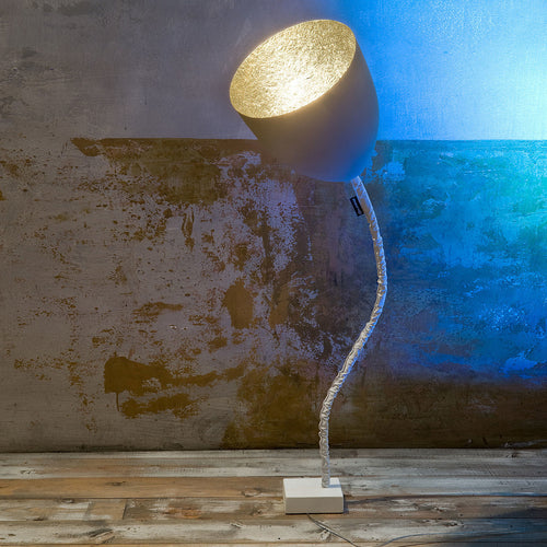 In-es.artdesign Flower Cemento Floor Lamp