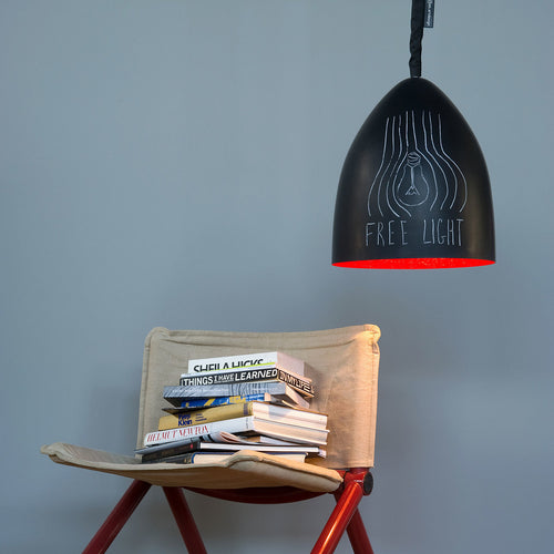 In-es.artdesign Flower S Lavagna Pendant Light