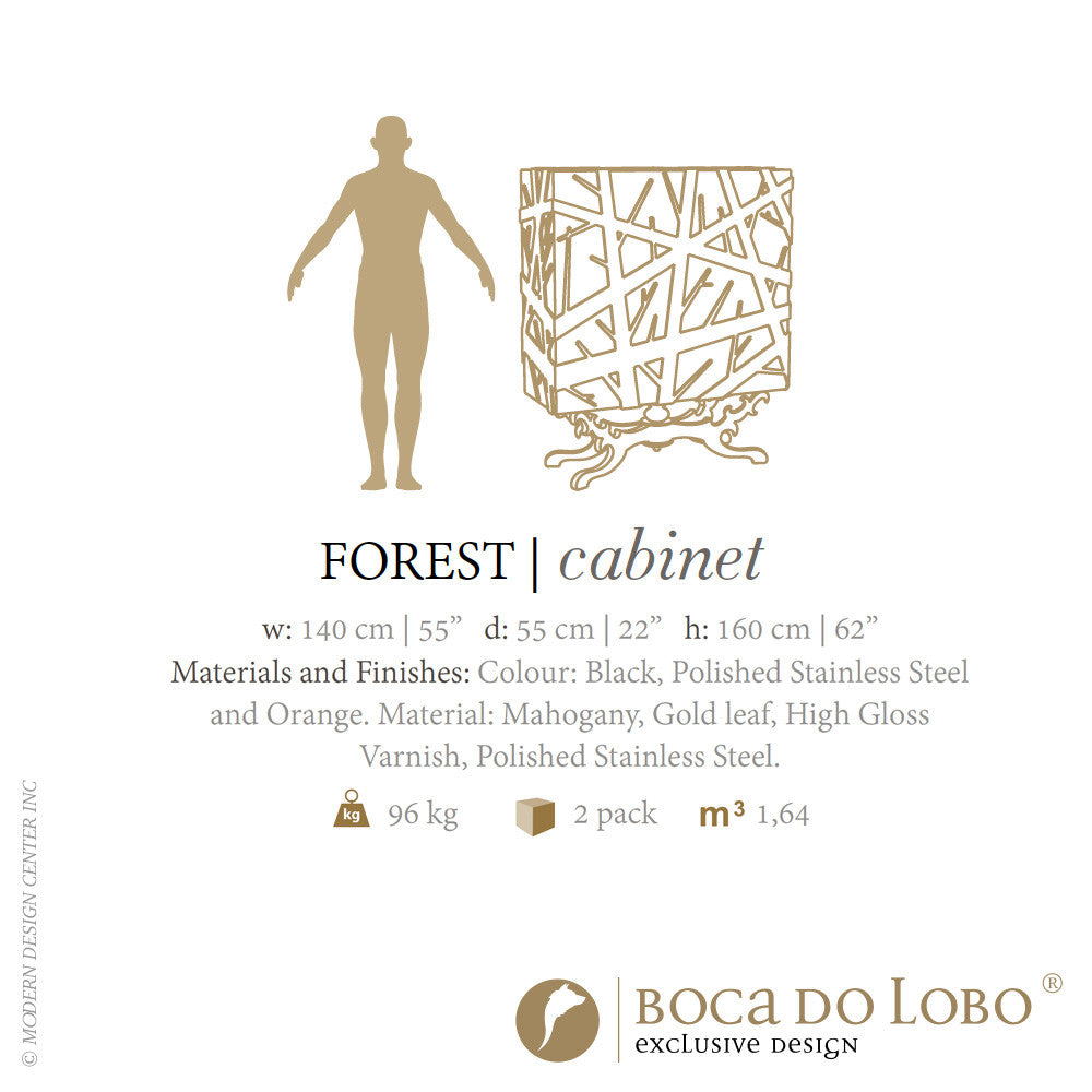 Boca do Lobo Forest Cabinet Limited Edition | Boca do Lobo | LoftModern
