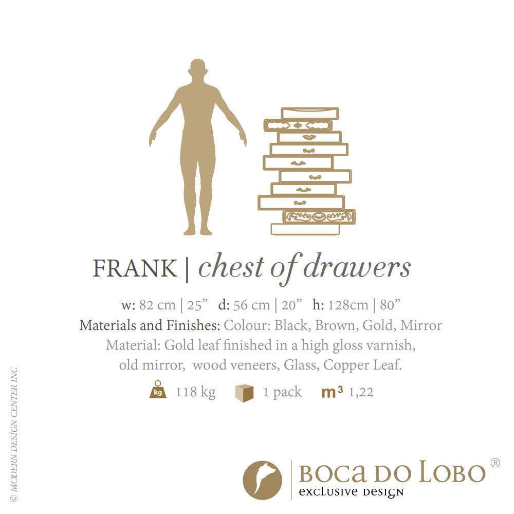 Boca do Lobo Frank Chest of Drawers Limited Edition | Boca do Lobo | LoftModern