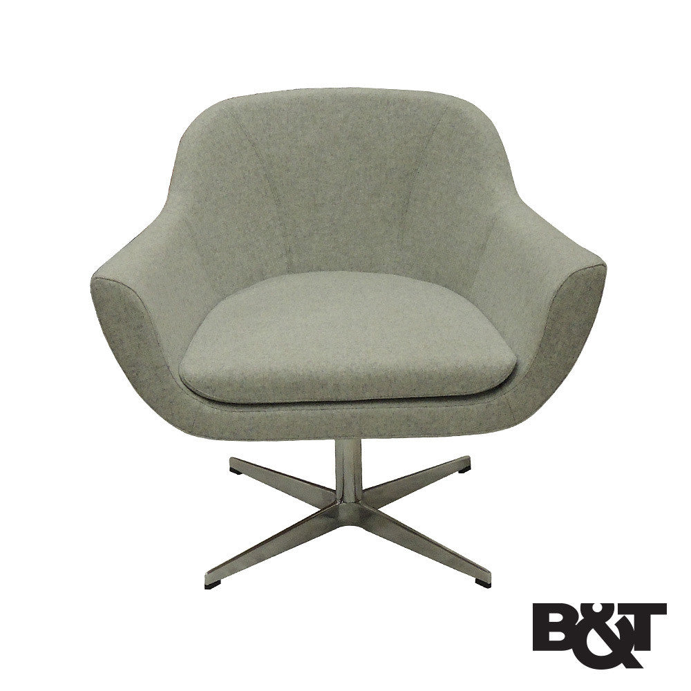 Bu0026T Green Lounge Chair | Bu0026T | LoftModern
