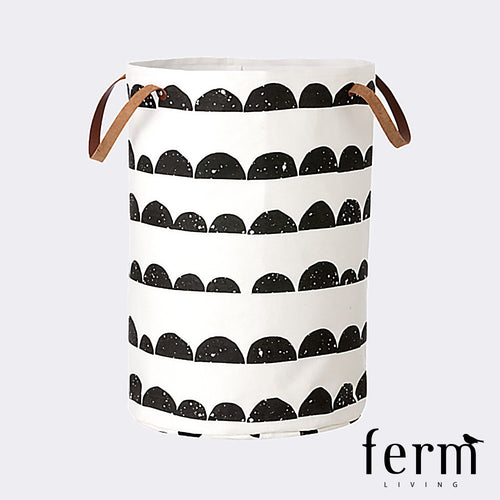 Ferm Living Half Moon Laundry Basket | Ferm Living | LoftModern