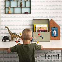 Ferm Living Half Moon Wallpaper Mint | Ferm Living | LoftModern