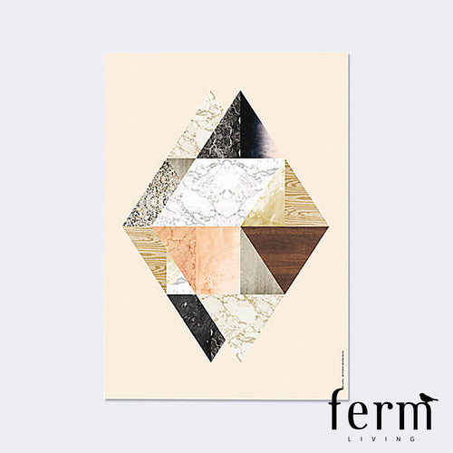 Ferm Living Harlequin Twin Illustration | Ferm Living | LoftModern