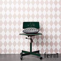 Ferm Living Harlequin Wallpaper Rose | Ferm Living | LoftModern