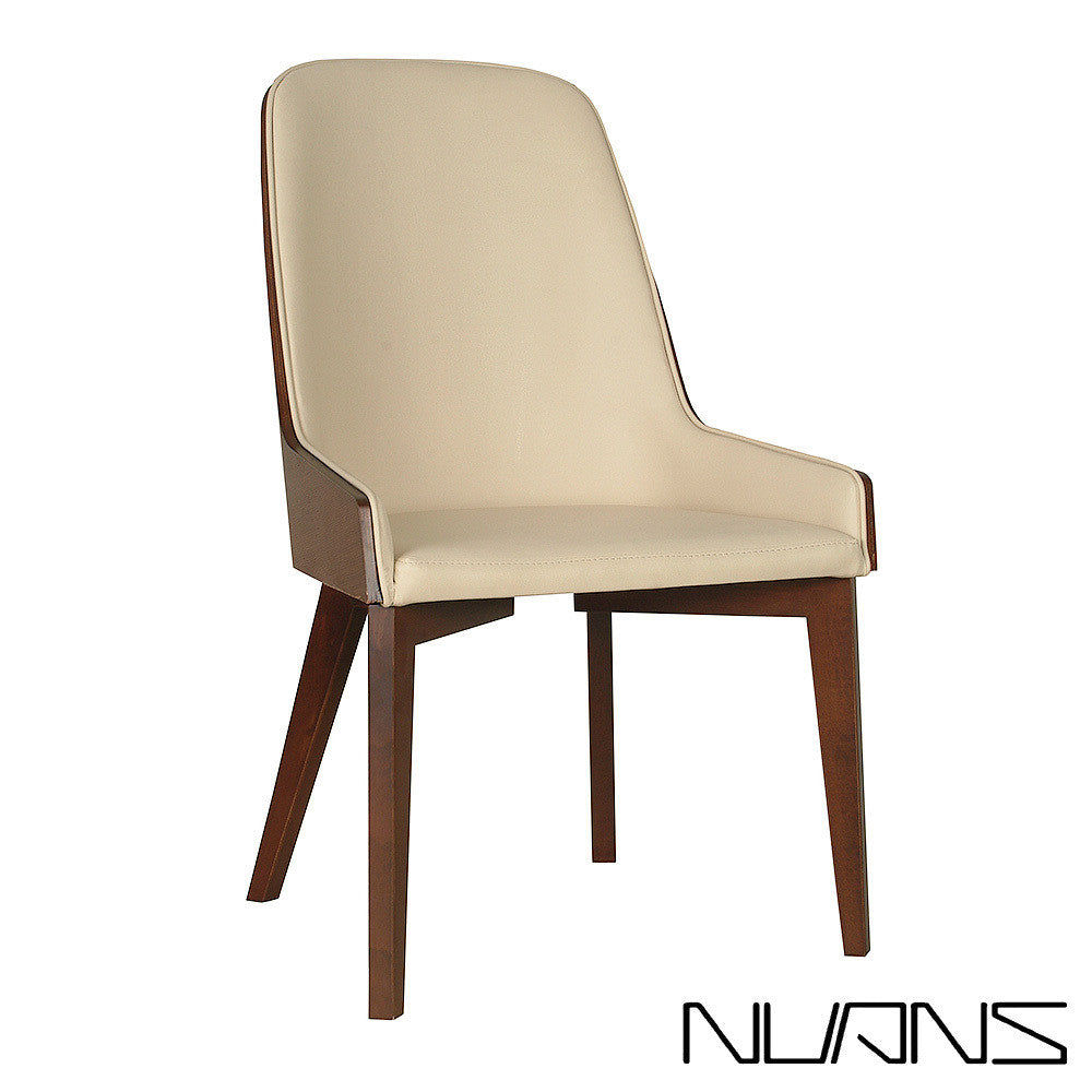 B&T Hudson Wood Base Side Chair | B&T | LoftModern