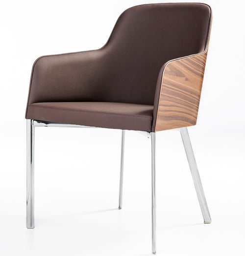 B&T Hudson Metal Base Armchair