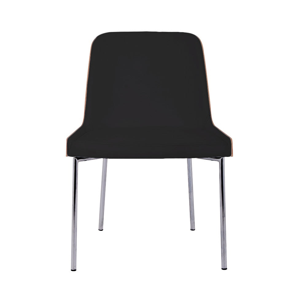 B&T Hudson Metal Base Side Chair