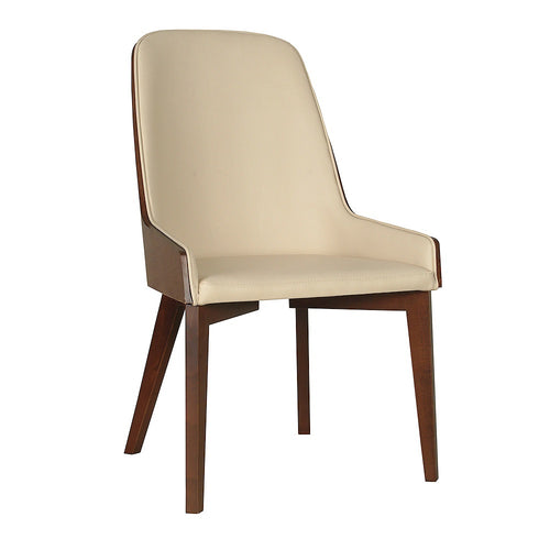 B&T Hudson Wood Base Side Chair