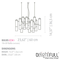 DelightFULL Ike Suspension Lamp | Delightfull | LoftModern