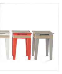 Vij5 Wrapped Stool Gray | Vij5 | LoftModern