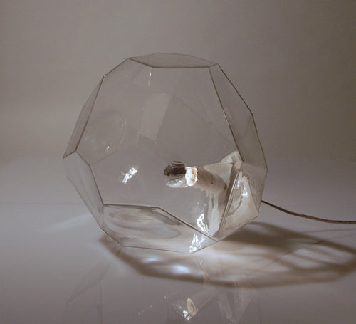 Innermost Asteroid Table Lamp Glass