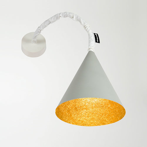 In-es.artdesign Jazz A Cemento Wall Light